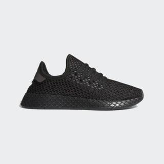 Deerupt Shoes Core Black / Silver Metallic / Red F97408