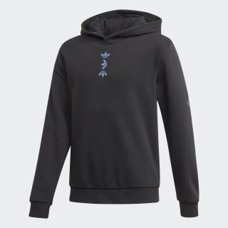 Large Logo Hoodie Black / Team Royal Blue FU0788
