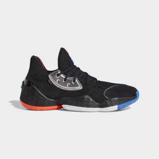 Harden Vol. 4 Shoes Core Black / Silver Met. / Bright Blue F97187