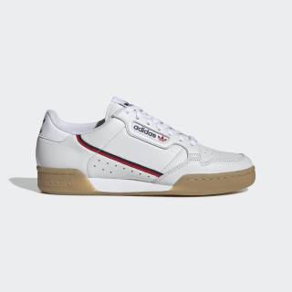 Continental 80 Shoes Crystal White / Collegiate Navy / Scarlet EE5393