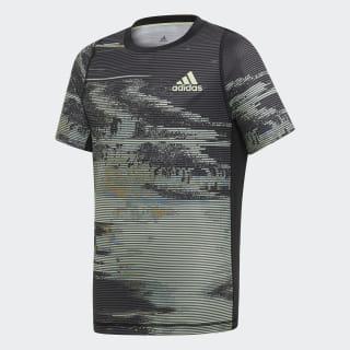 T-shirt New York Graphic Black / Grey Three / Flash Orange / Glow Green EJ7034