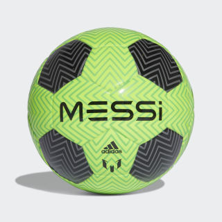 Mini balón Messi Q3 SOLAR GREEN/BLACK/SOLAR LIME CW4175