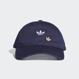 Gorra SAMSTAG DAD CAP Collegiate Navy / White / Gold Metallic DU6800