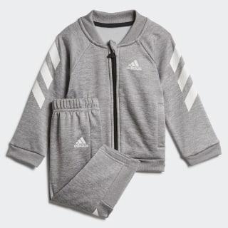 Спортивный костюм Mini Me medium grey heather / black ED1175