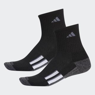 AEROREADY Mid Crew Socks 2 Pairs Black CJ5831