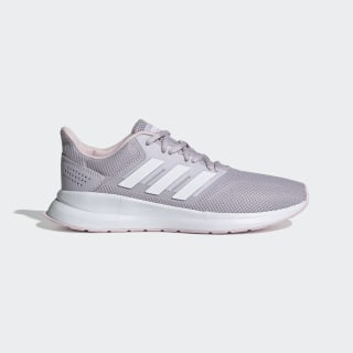 Zapatillas Runfalcon Mauve / Cloud White / Clear Pink EE8166