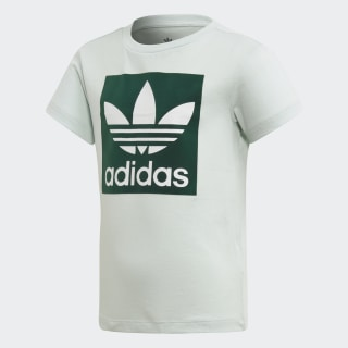 Trefoil Tee Vapour Green / Collegiate Green / White ED7744
