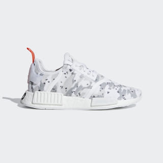 NMD_R1 Shoes Cloud White / Cloud White / Solar Red G27933