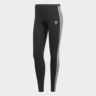 Calzas 3-Stripes Black CE2441