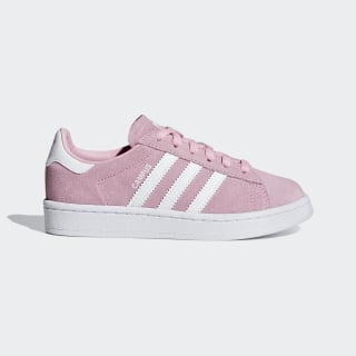 Campus Schuh Light Pink / Ftwr White / Ftwr White CG6653