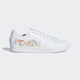 Stan Smith Shoes Cloud White / Cloud White / Gold Metallic BC0259