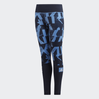 Tights Lucky Blue / Legend Ink / White DV2735