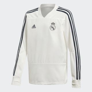 Real Madrid træningsoverdel Core White / Tech Onix CW8665