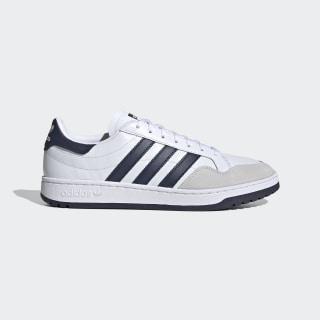 Team Court Shoes Cloud White / Collegiate Navy / Core Black EF6054