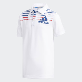 Badge of Sport Polo Shirt White / Dark Marine DQ2083