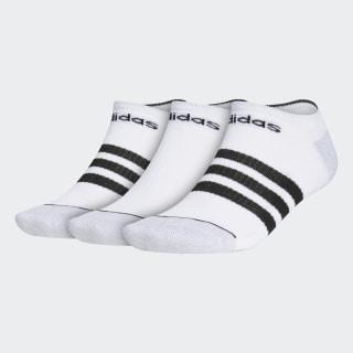 Socquettes invisibles 3-Stripes (lot de 3 paires) Multicolor CK0636