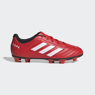 Copa 20.4 Firm Ground Cleats Active Red / Cloud White / Core Black EF1919