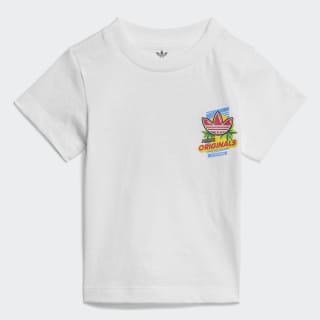 Camiseta Graphic White / Multicolor ED7702