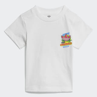 GRAPHIC TEE White / Multicolor ED7702