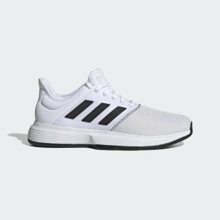GameCourt Wide Shoes Cloud White / Core Black / Grey CG6336