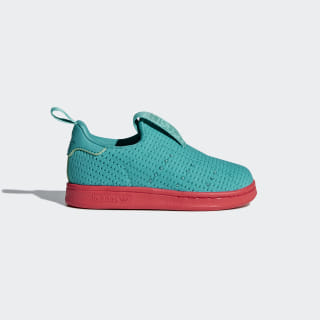 Кроссовки STAN SMITH 360 I shock green / shock green / real coral s18 CQ2717