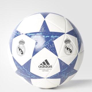 36f0d682b4334 PELOTA DE FÚTBOL FINALE 16 REAL MADRID CAP WHITE   SUPER PURPLE   RAW  PURPLE AP0390
