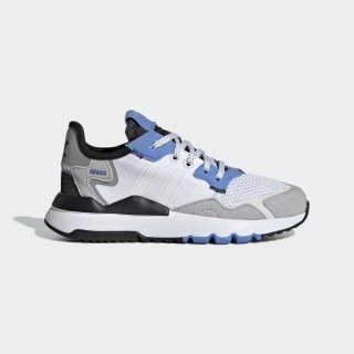 Chaussure Nite Jogger Cloud White / Cloud White / Real Blue EE6446