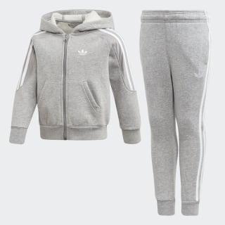 Completo Outline Hoodie Medium Grey Heather / White ED7762