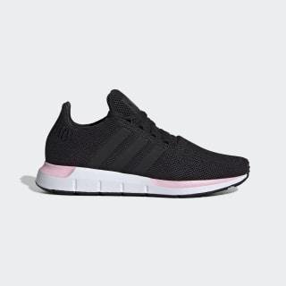 Tenis Swift Run W core black/core black/true pink EE4552