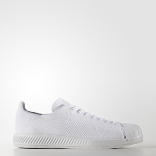 Superstar Primeknit Shoes Cloud White / Cloud White / Cloud White S82240