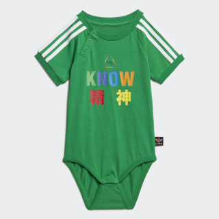 Tuta Pharrell Williams Babygrow Green FR9063