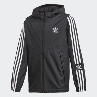 Windbreaker jakke Black / White FM1211