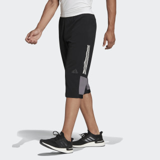 Pants 3/4 Climacool Workout BLACK BK0982