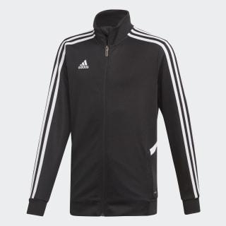 Tepláková bunda Tiro Black / White DY0106