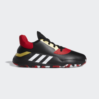 Pro Bounce 2019 Low Schuh Core Black / Cloud White / Scarlet EG2818