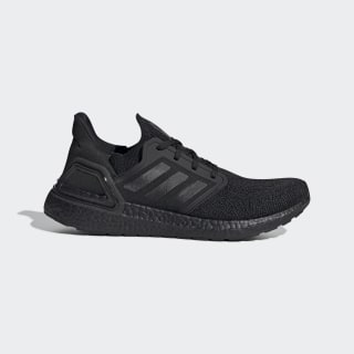 Ultraboost 20 Shoes Core Black / Core Black / Solar Red EG0691