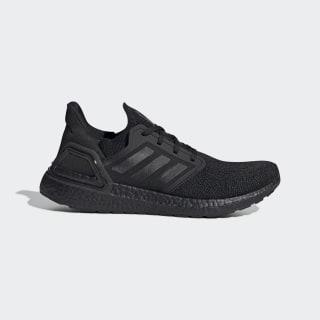 Ultraboost 20 Shoes Core Black / Core Black / Solar Red EG0691