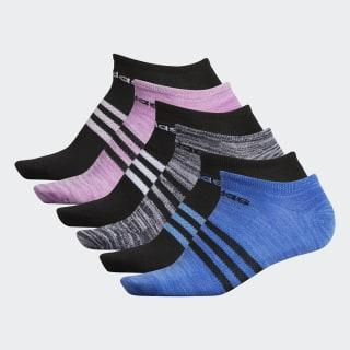 Superlite No-Show Socks 6 Pairs Multicolor CK0649