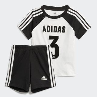 Conjunto de Verão Sport White / Black FM6382