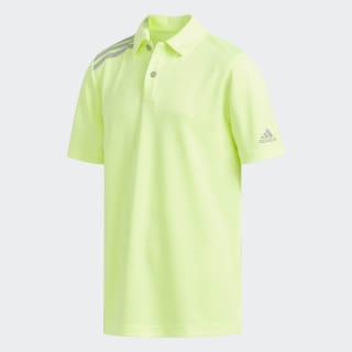 3-Stripes Tournament Polo Shirt Hi-Res Yellow DX1336