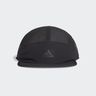 AEROREADY Five-Panel Reflective Running Cap Black / Black / Black Reflective FK0852