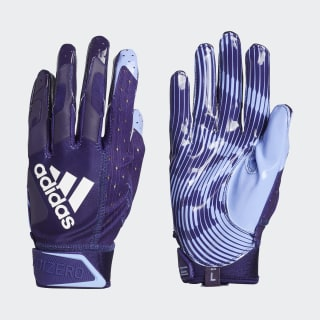 Adizero 9.0 Highlighter Receiver Gloves Purple EW5585