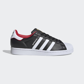 Superstar Shoes Core Black / Cloud White / Scarlet FW6385