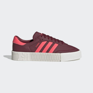 SAMBAROSE Shoes Collegiate Burgundy / Flash Red / Running White EE7045
