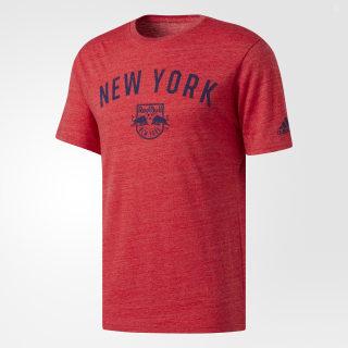 New York City FC Tri-Blend Tee Red BT1915