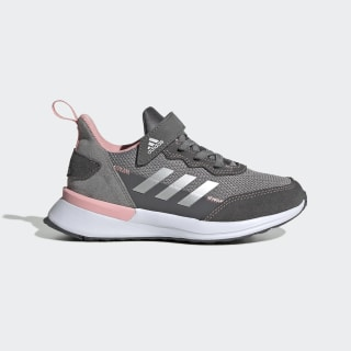 RapidaRun Elite S and L Shoes Grey Three / Silver Metallic / Glory Pink EF9412