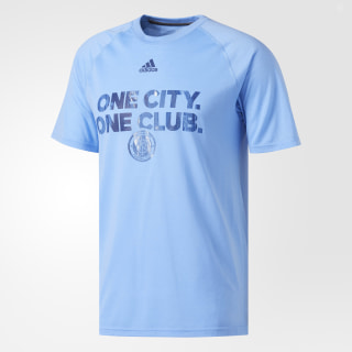 New York City FC Ultimate Tee Blue BT4814