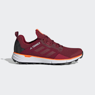 Кроссовки для трейлраннинга Terrex Speed LD collegiate burgundy / active maroon / solar orange G26384