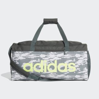 Bolso Deportivo Linear Core Graphic raw white / legend ivy / hi-res yellow DT5659