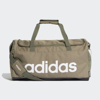 Linear Duffel Bag Legacy Green / Black / White FS6504